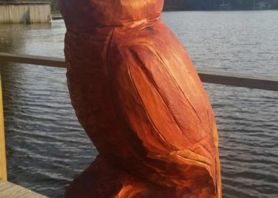 Red Cedar Bard Owl